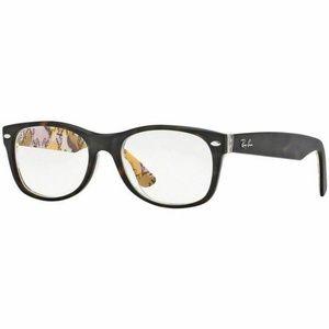 Ray-Ban Square Eyeglasses Tortoise W/Demo Lens